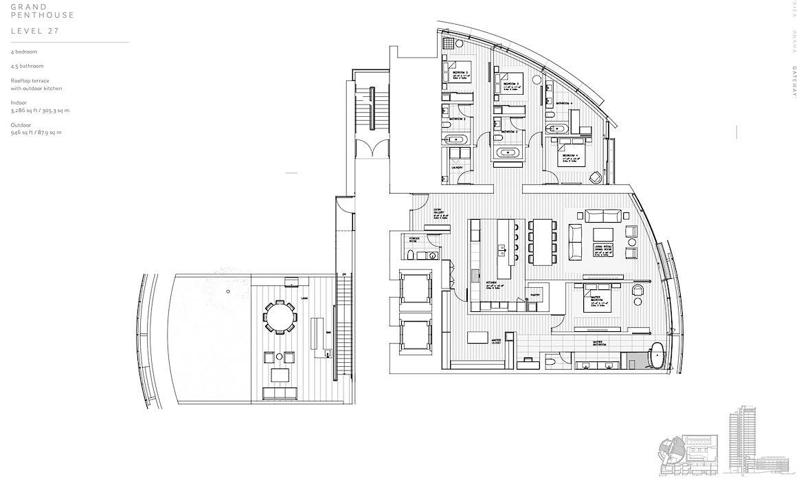 Nauru Tower Penthouse Floor Plan on city chicago floor plan, jameson place condo floor plan, a place at the beach floor plan, hospital floor plan, wabash floor plan, kahala beach floor plan, honolulu luxury penthouse floor plan,