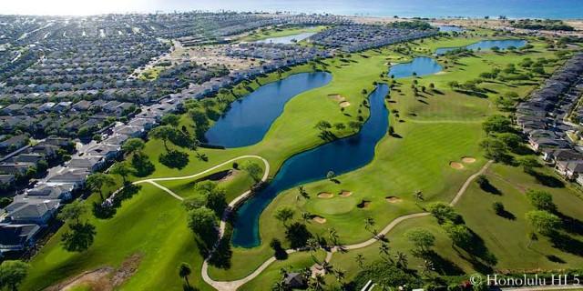 Ewa Beach New Homes Developments by Golf Course