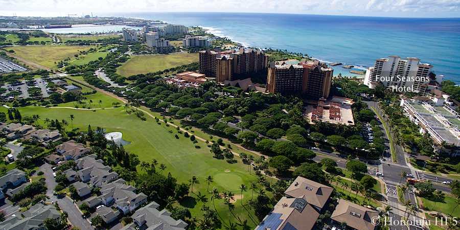 Four Seasons Hotel Ko Olina - Aerial Photo