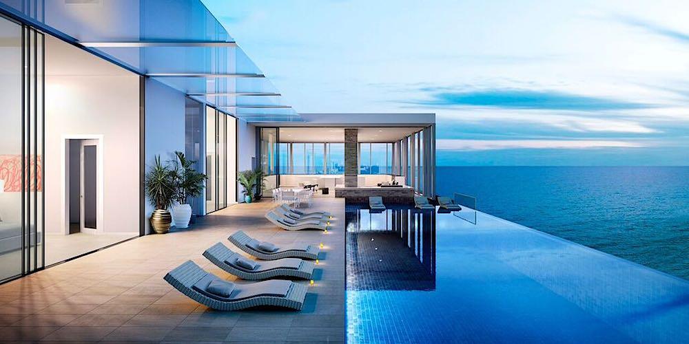 Waiea Grand Penthouse Terrace