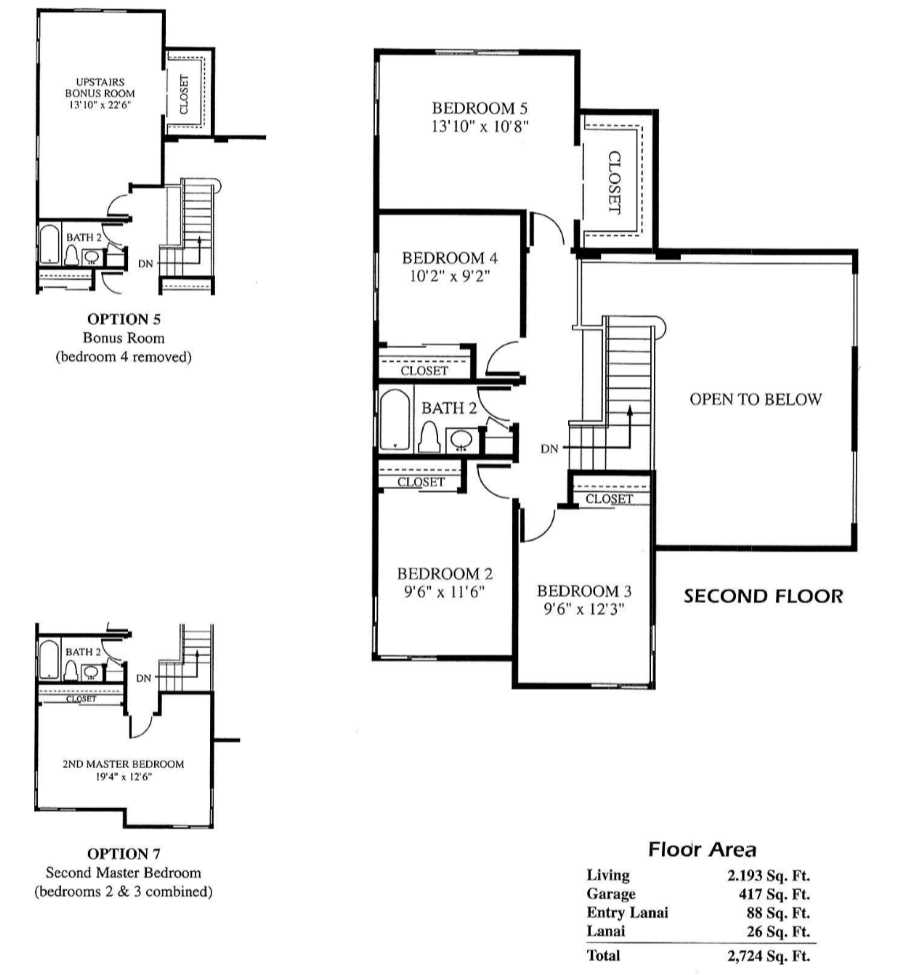 5 Leolani Floor Plans Newer Hawaii Kai Homes