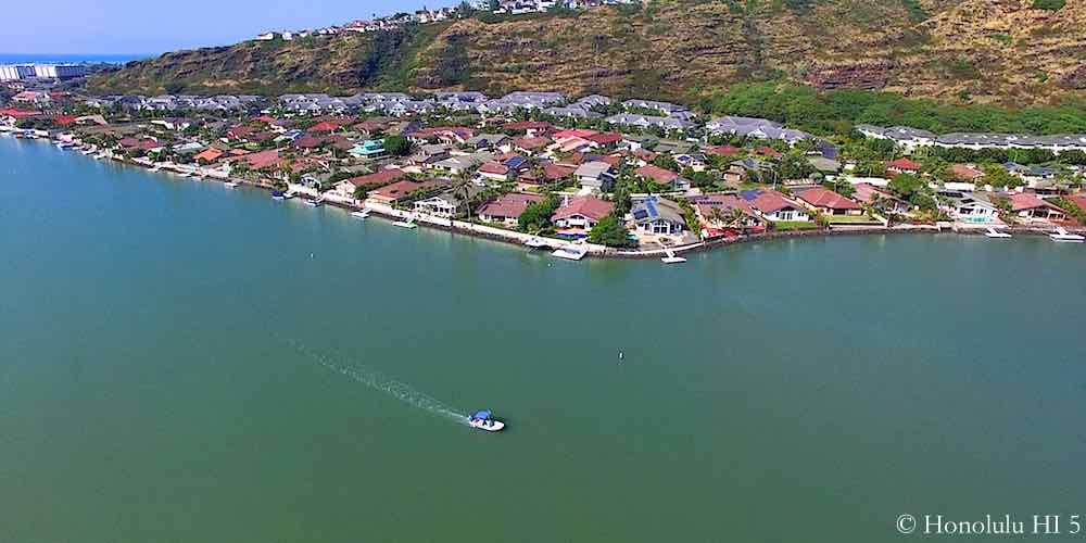 Anchorage Marina Front Homes in Hawaii Kai