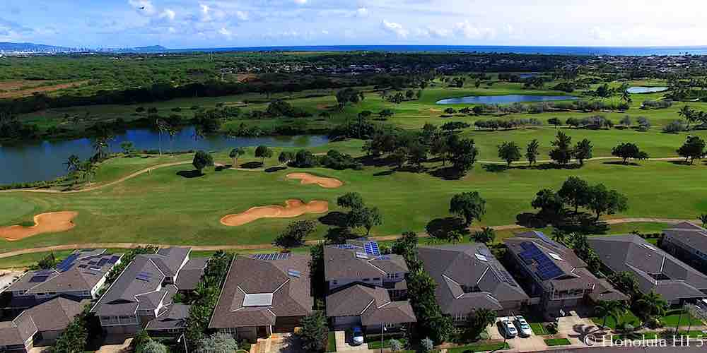 Cypress Point in Ewa Gentry - Aerial Photo