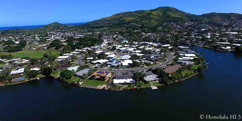 Enchanted Lake Homes - Aerial Photo