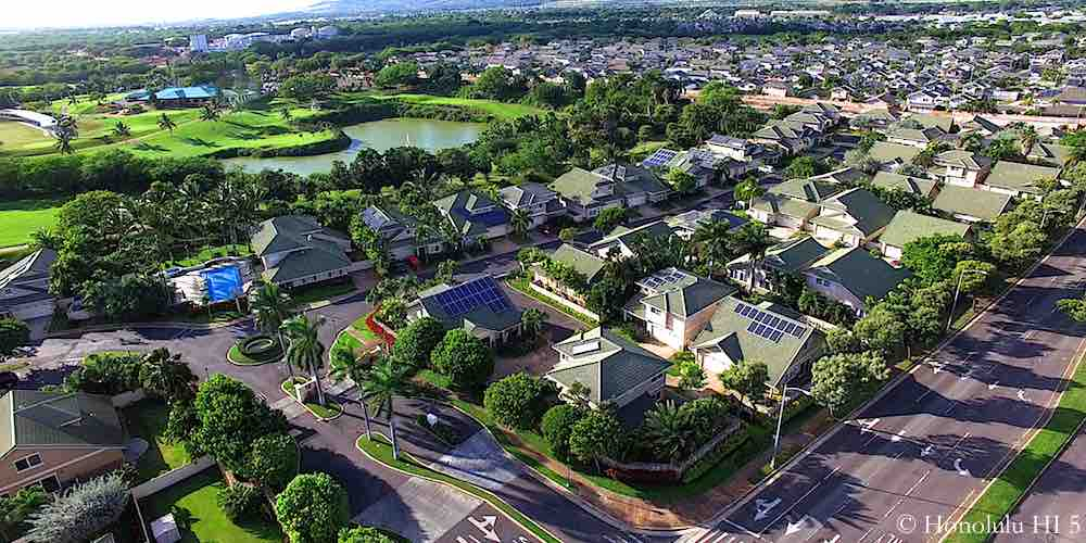 Huelani Ewa Gentry Homes - Aerial Photo