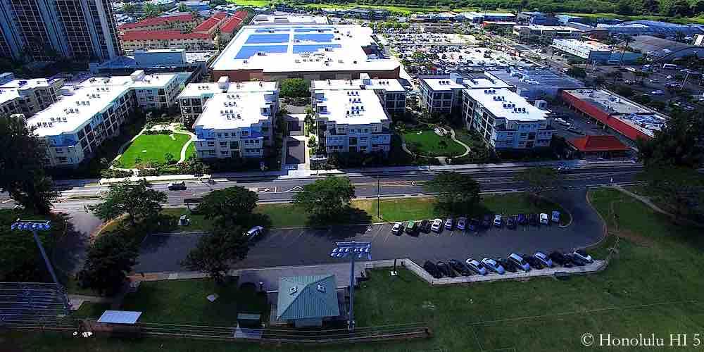 Ka Malanai Condos in Kailua - Four Low-rise Buildings