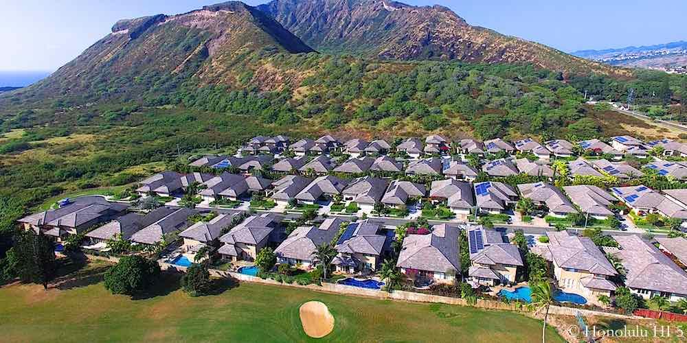 Koko Villas Golf Front Homes in Hawaii Kai