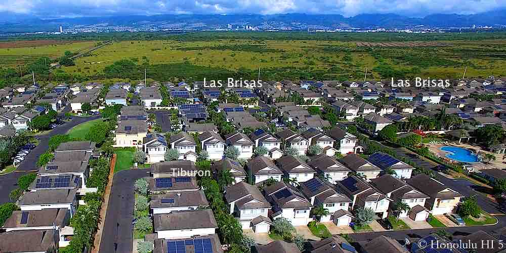 Las Brisas Ewa Gentry Homes - Aerial Photo