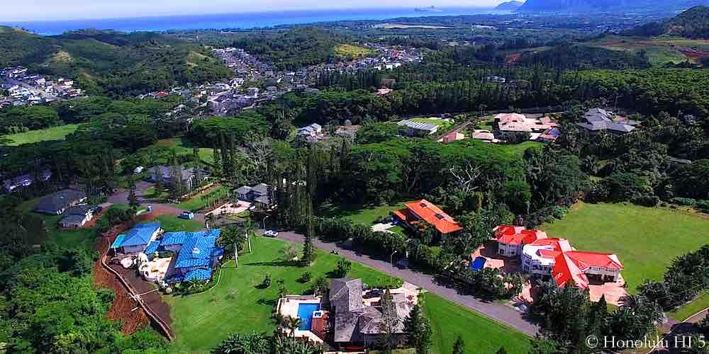 Norfolk Kailua Homes - Aerial Photo