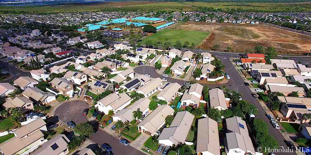 Summerhill Ewa Gentry Homes - Aerial Photo