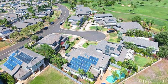 Kapolei Golf Front Homes - Aerial Photo