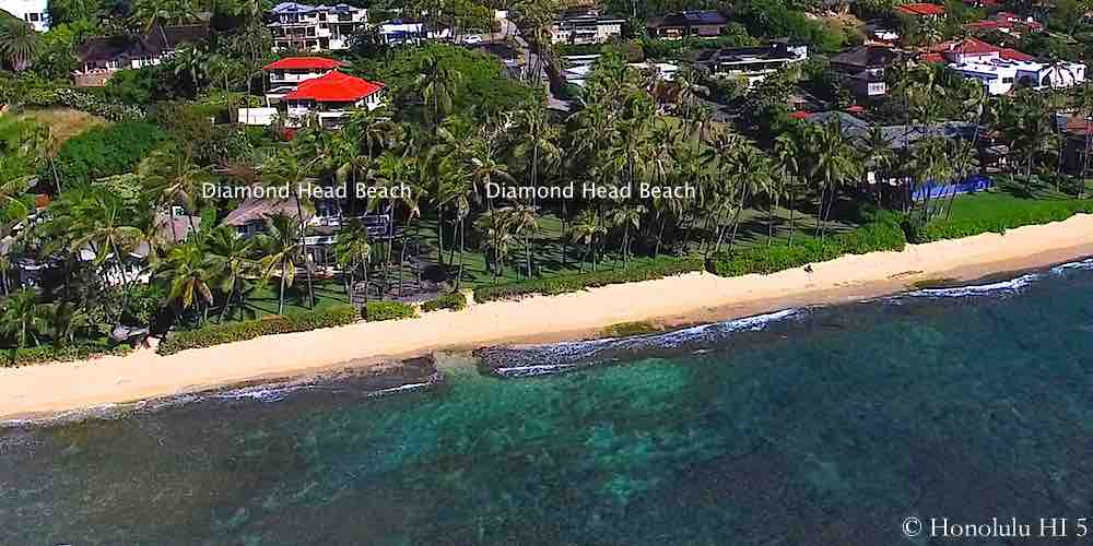 Diamond Head Beach CPR - Aerial Photo
