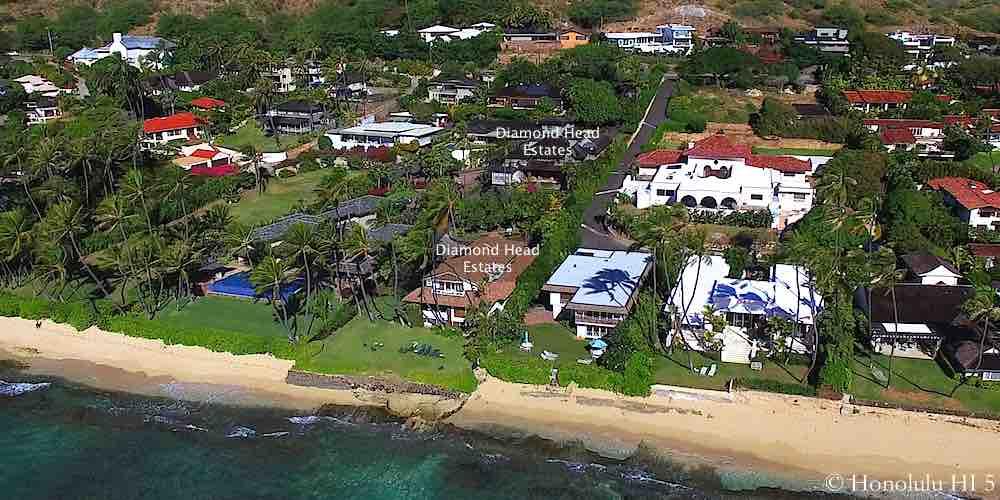 Diamond Head Estates - Aerial Photo