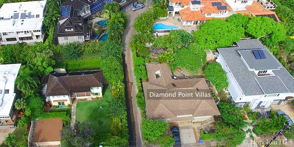 Diamond Point Villas - Drone Photo