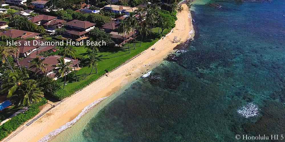 Isles at Diamond Head Beach - Aerial Photo