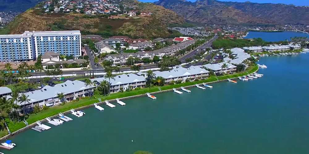 Mawaena Kai Townhomes in Hawaii Kai - Aerial Photo