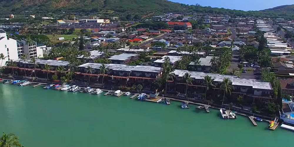 Kaimala Marina Townhomes Hawaii Kai - Aerial Photo
