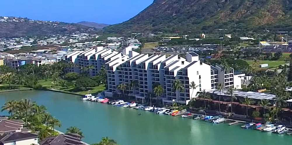 Esplanade Condo in Hawaii Kai - Aerial Photo