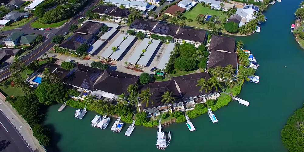 Gateway Peninsula Hawaii Kai Townhomes - Aerial Photo
