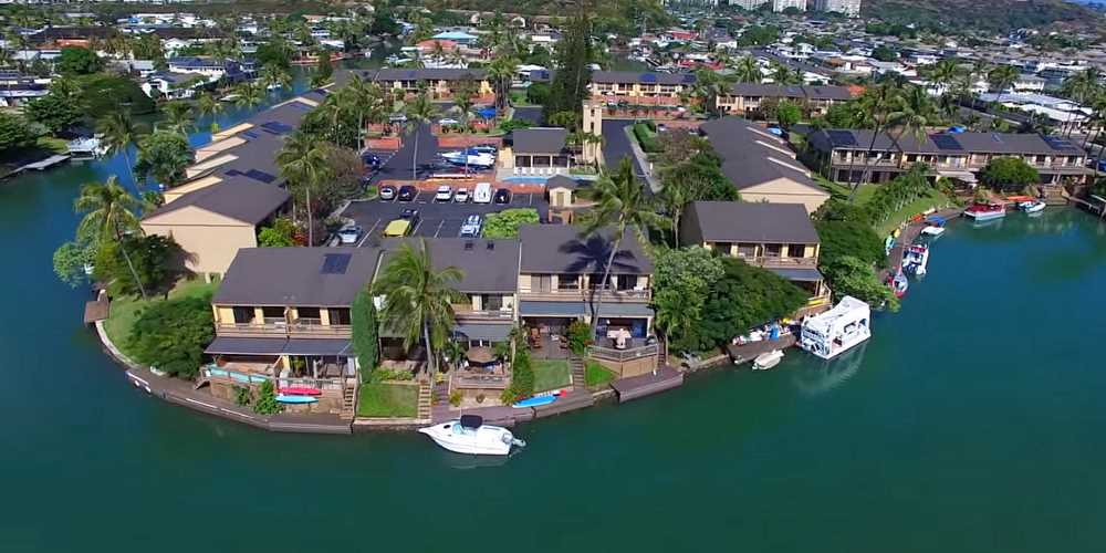 Moorings Townhomes Hawaii Kai - Aerial Photo