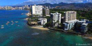Hawaii Gold Coast - Waikiki Condos in Distance