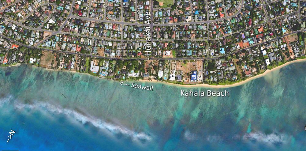 Kahala Aerial Map