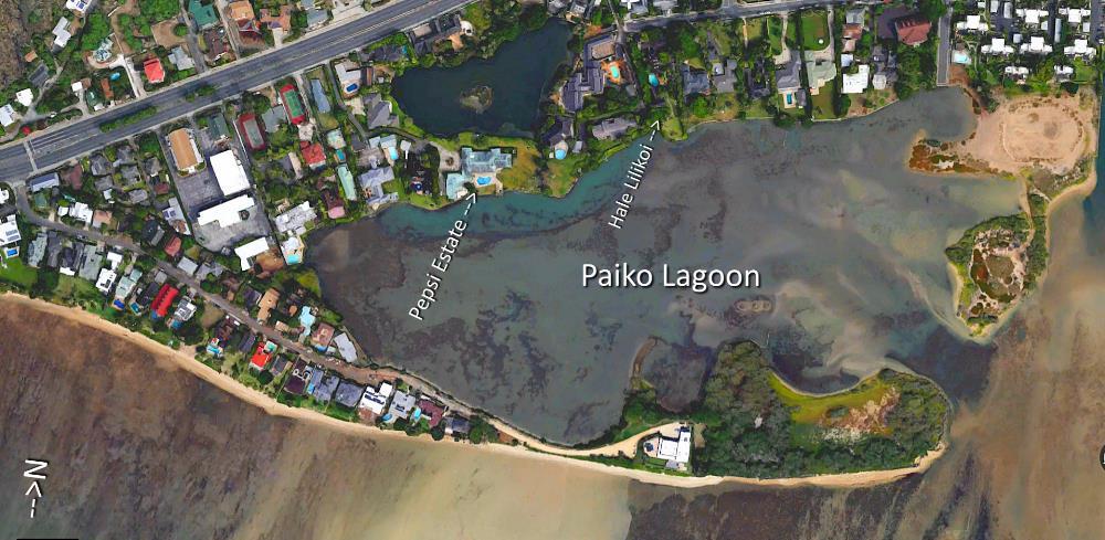 Paiko Lagoon Aerial Map