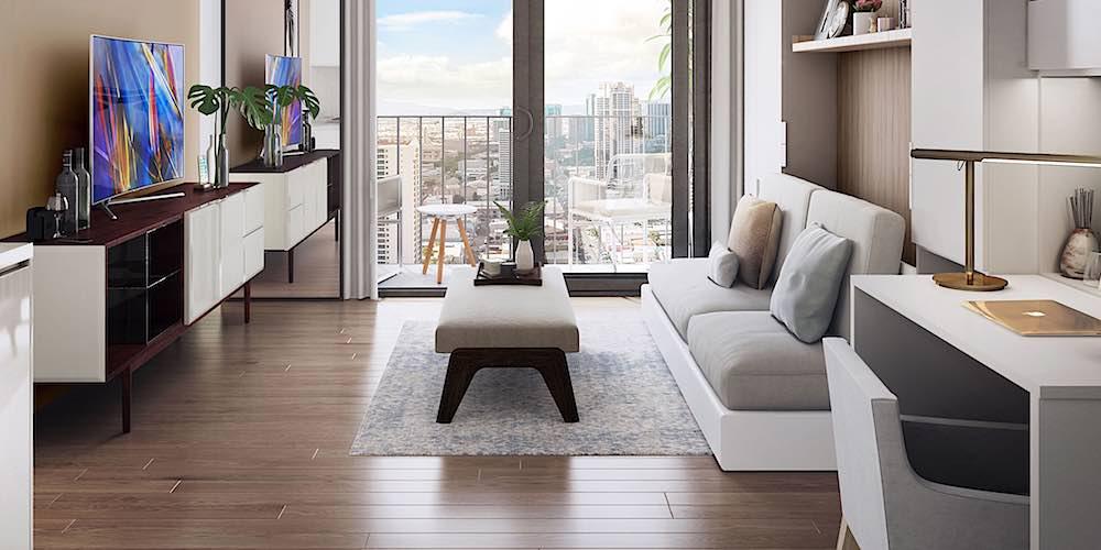 Aalii Condo Living Room
