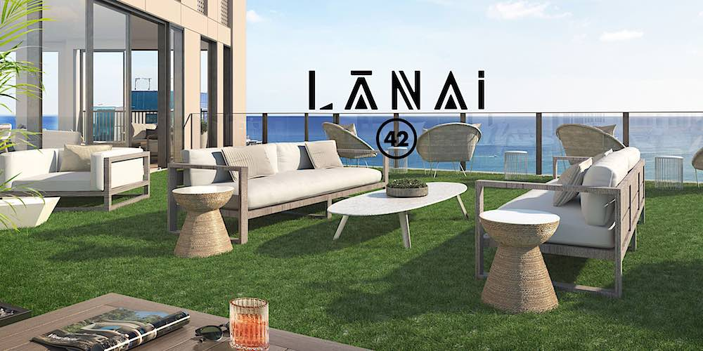 Lanai 42 in Aalii Condo - a rendering