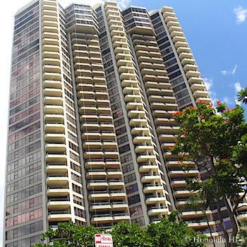 Admiral Thomas Apartments Honolulu