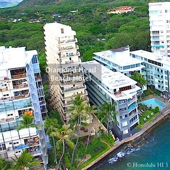 Diamond Head Beach Hotel Condo in Honolulu