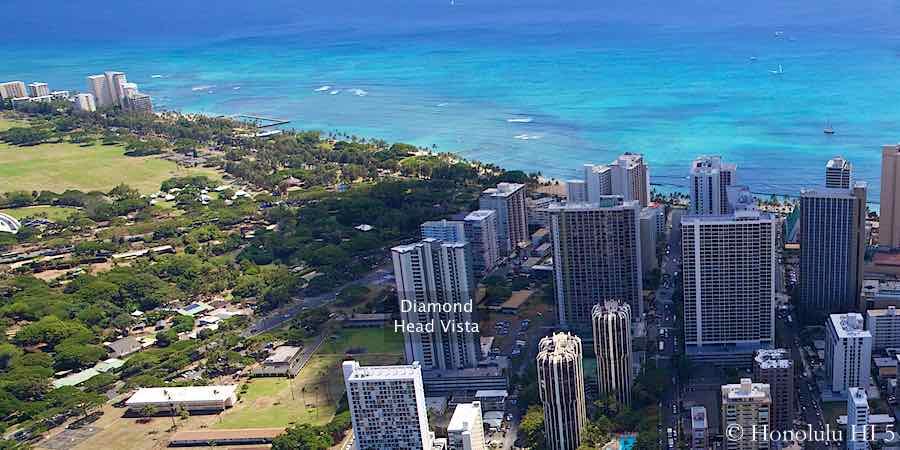 Diamond Head Vista Condo in Waikiki