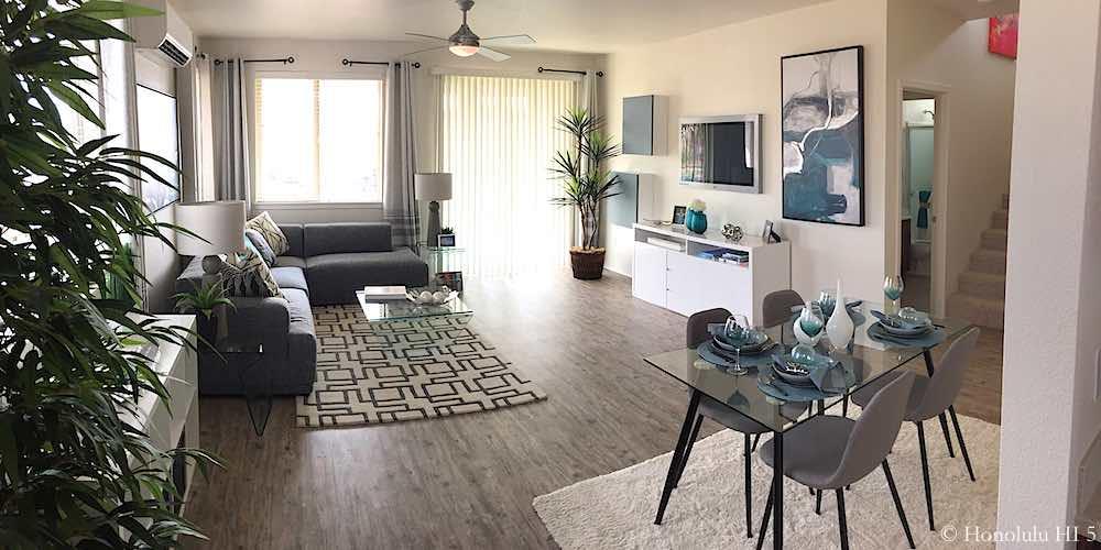 Haakea at Hoopili Model Living Room