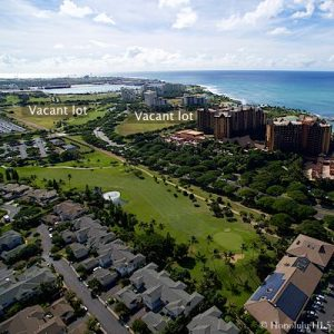 Ko Olina Golf, Hotels and Vacant Lots - Drone Photo