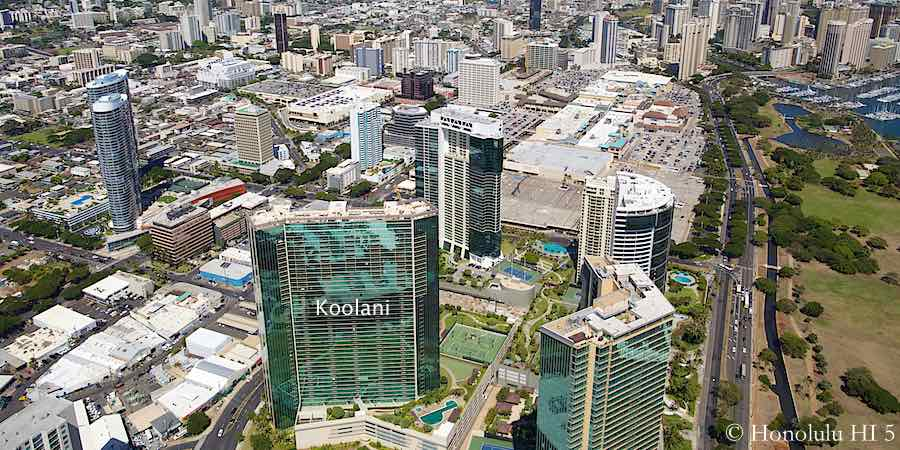 Koolani Condo in Kakaako