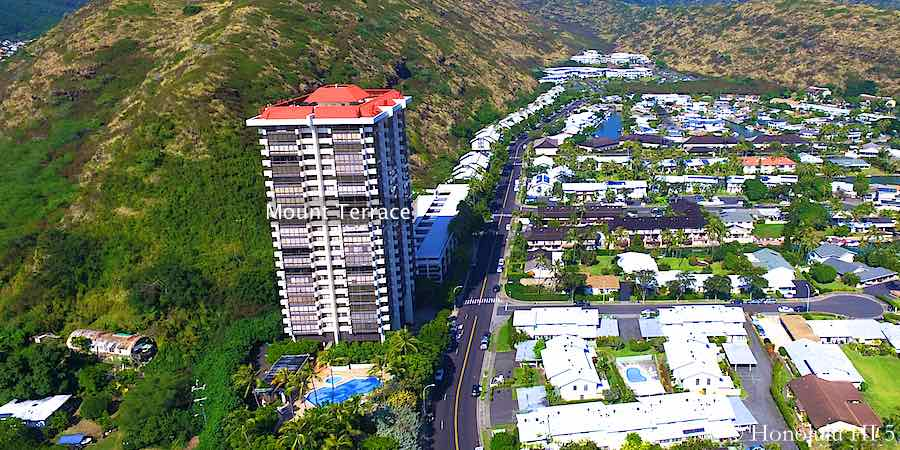 Mount Terrace Condo in Hawaii Kai
