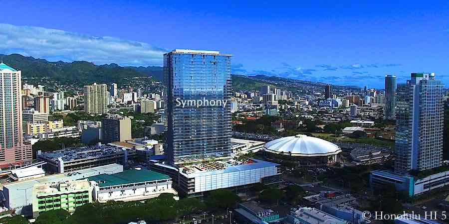 Symphony Honolulu Condo in Kakaako