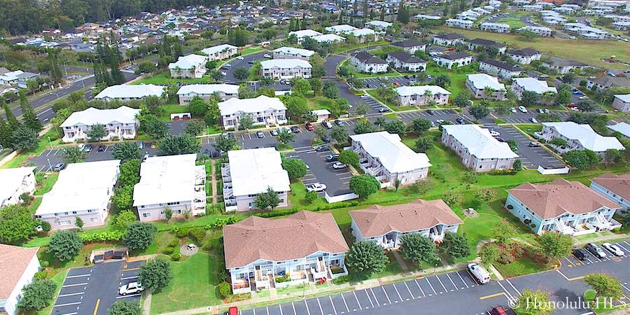 Mililani Mauka Townhomes - Aerial Photo