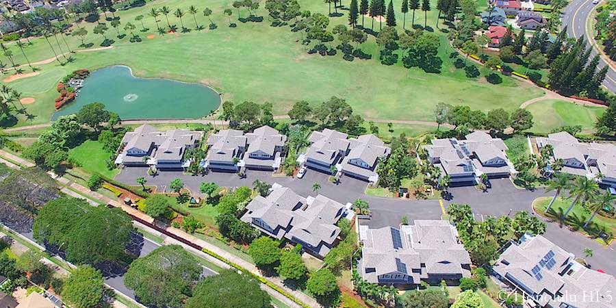 Waikele Golf Course Front Townhomes