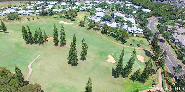 Waikele Golf Course Aerial Photo