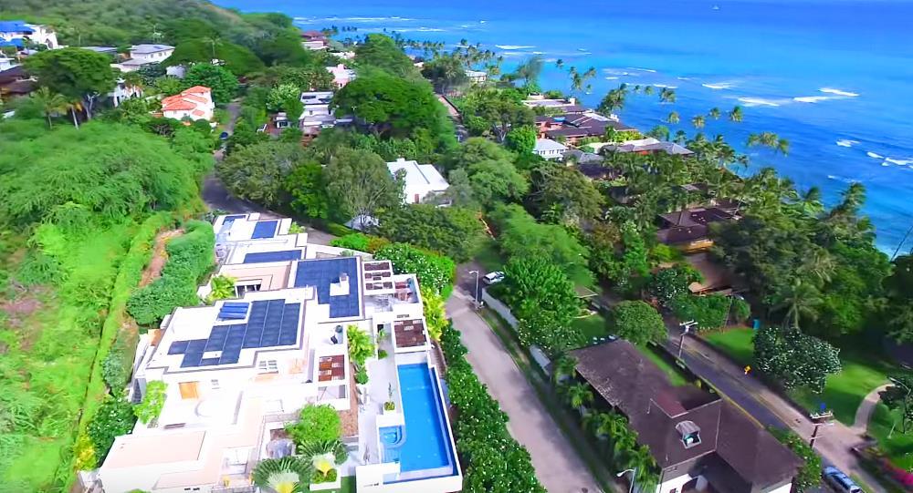 Makalei Luxury Estate - Aerial View
