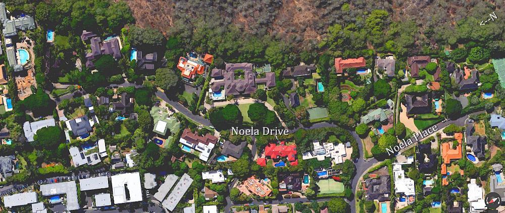 Noela Drive Arial Map