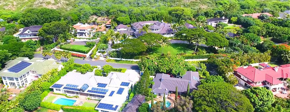 Noela Drive Aerial Photo