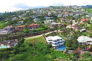 Hawaii Loa Ridge Homes - Aerial Photo