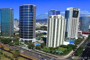 Kakaako Condos On the Super-Block - Aerial Photo