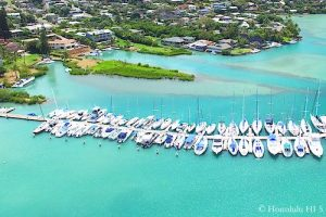 Kaneohe Bay Homes - Aerial Photo