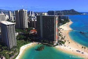 Waikiki Condos & Hotels - Aerial Photo