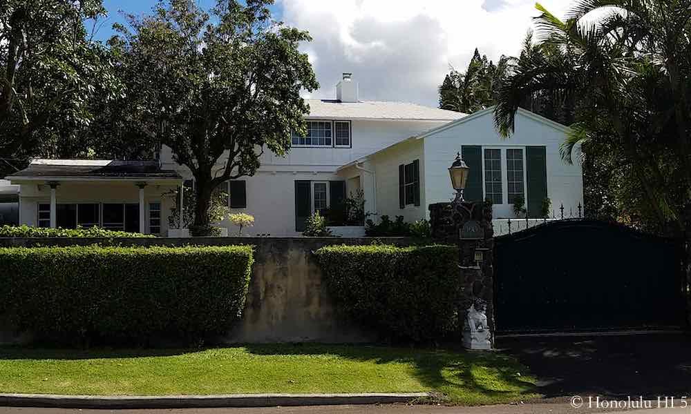 3649 Nuuanu Pali Drive - a Historic Home