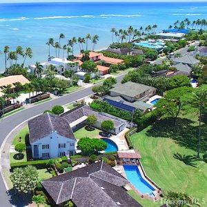 Kai Nani Honolulu Homes - Drone Photo