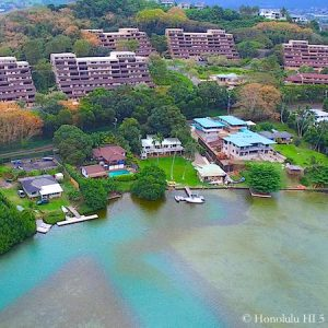 Lilipuna Homes in Kaneohe - Drone Photo